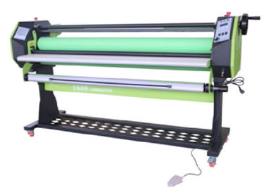 China Single Side Hot Paper Lamination Machine 2200 W With Infrared Heating Way supplier