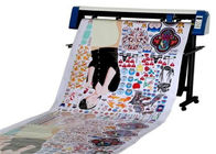 Professional Stepper Sticker Cutting Plotter Manual Contour Cut With 20-800mm/S Speed