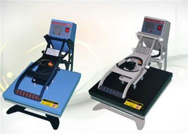 China High Accuracy Industrial  Heat Press Machine With Flat Work Table and LCD Display distributor
