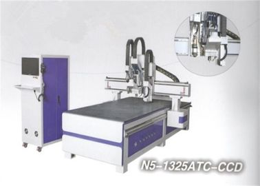 China ATC Contour Cutting CNC Engraving Machine exchange double systems distributor