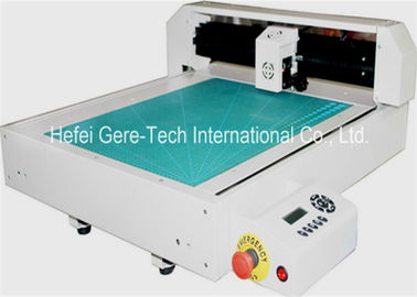 High Frequency Automatic Label Die Cut Sticker Machine HPGL Format 346*516mm