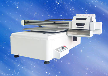 China 6090 UV Flatbed Inkjet Printing Machine For Mobile Phone Case / Tile / Glass distributor