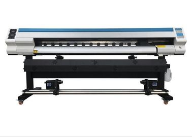 China 1.8M Roll To Roll Inkjet Printing Machine 1440 Dpi Digital Eco Solvent Printer distributor