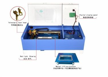 China Wheel Type Acrylic Laser Engraving Machine CO2 Closed Laser 300*200mm distributor