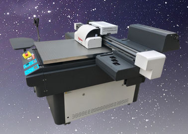 China Electronic Inkjet Printing Machine A1 Size 3 Head UV Flatbed Printer Machine distributor